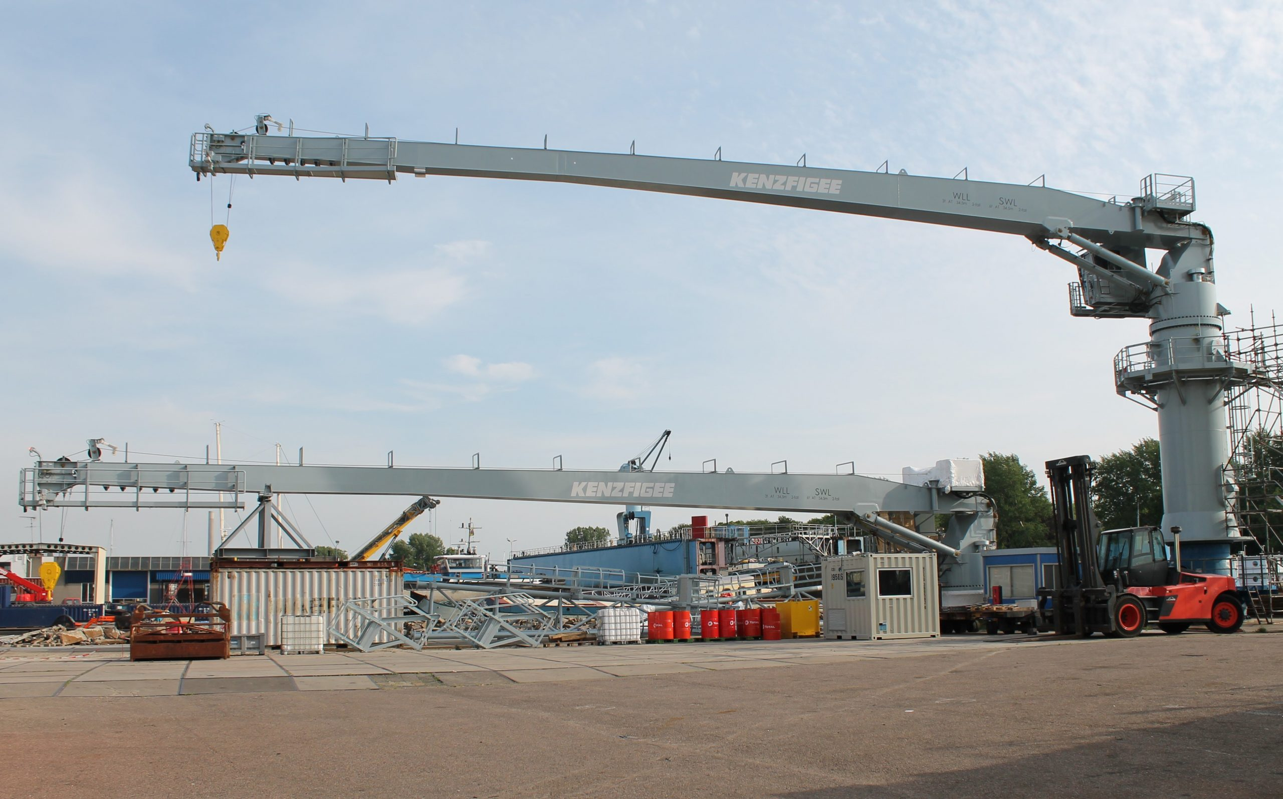 KenzFigee to supply Ammunition cranes to DIO in UK